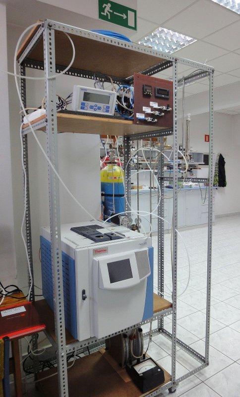 chromatograf  gazowy